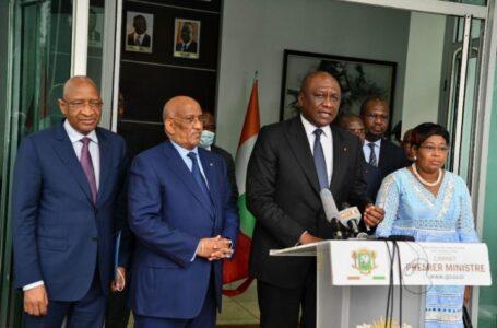 Présidentielle 2020 : le Premier Ministre Hamed Bakayoko rassure la mission d'observation de l'UA