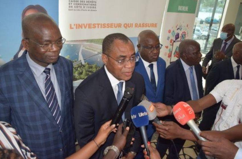 Le ministre ivoirien Adama Coulibaly donne le top départ du produit « CDC-Epargne-Diaspora »