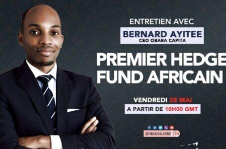 Entretien avec Bernard Ayitee, CEO Obara Capital, premier Hedge fund africain