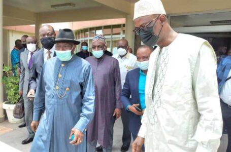 Mali : Goodluck Jonathan à Bamako pour trois jours de mission