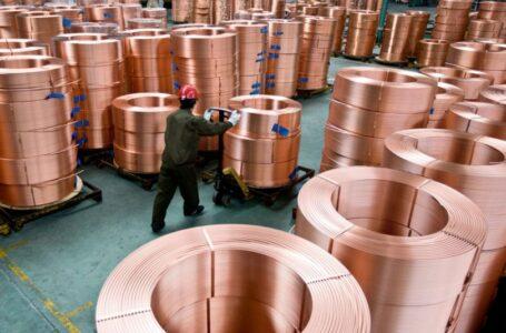 RDC: 8,7 milliards USD attendus de l'exportation de cuivre à fin août 2021